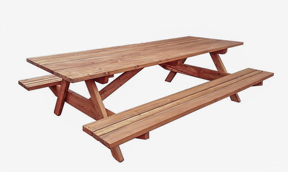 Piknikulaud puidust