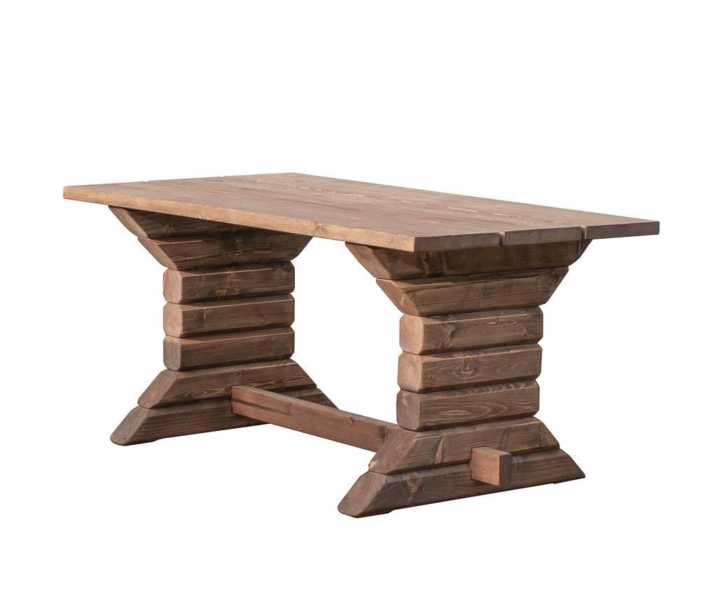 Höövelpagist laud, aiamööbel